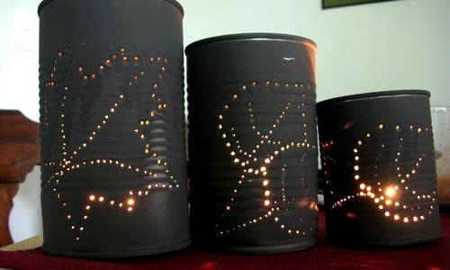 Konserve kutularından farklı tasarımlar