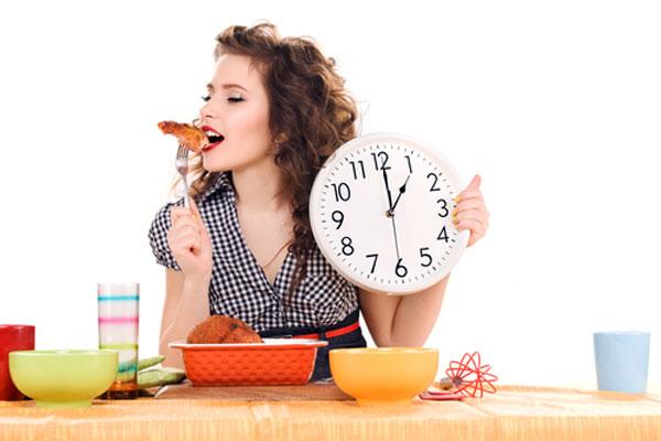 zamanlı yemek