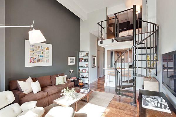 Dubleks Evde Farklı Tasarımlar