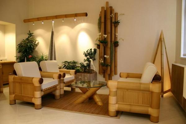 Küçük Oturma Odası Bambu