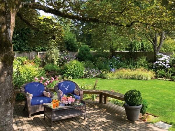 modern bahçeler