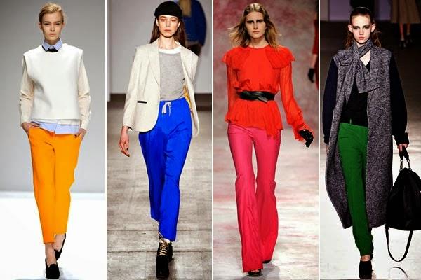 renkli pantolon modelleri