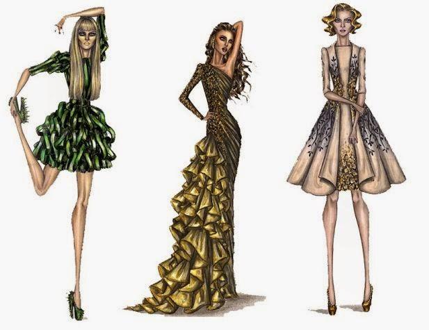 elbise çizimleri