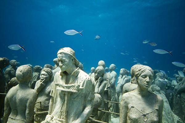 deniz altında yaşamak